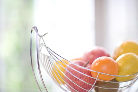 fruitschaal: Fruit Stockfoto