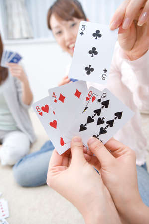 jeu de carte: Jeu de cartes Banque d'images