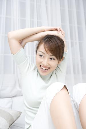 malleable: Women who exercise Stock Photo