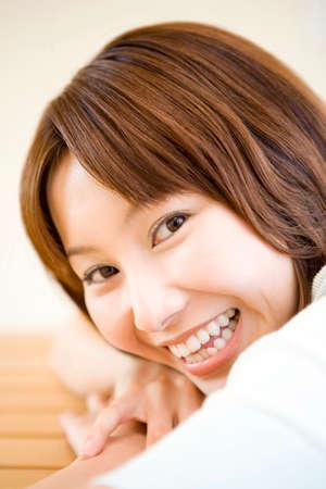 10s: Female portrait Stock Photo