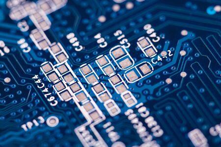 circuito electronico: circuito electr�nico Foto de archivo