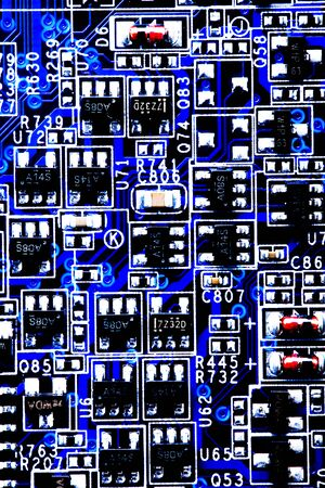 science tips: electronic circuit