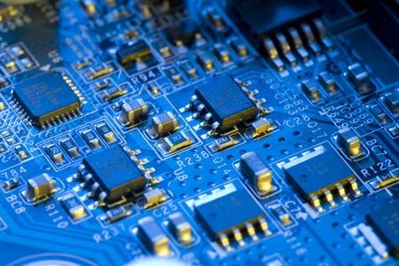 electronic components Stok Fotoğraf