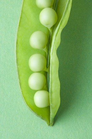 familiy: Snow peas Stock Photo