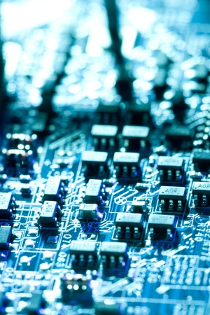 computerize: Foundation Stock Photo