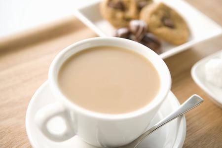 intermission: Cafe au lait Stock Photo