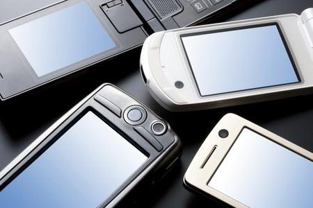 liquid crystal display: Mobile phone