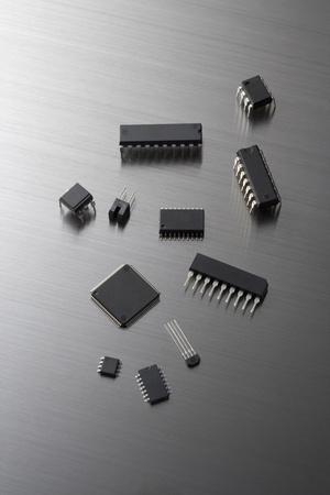 science tips: Chip Stock Photo