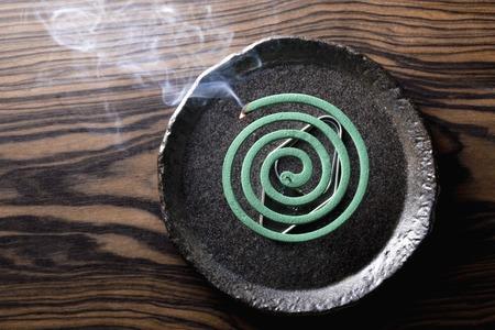 Mosquito coil Фото со стока