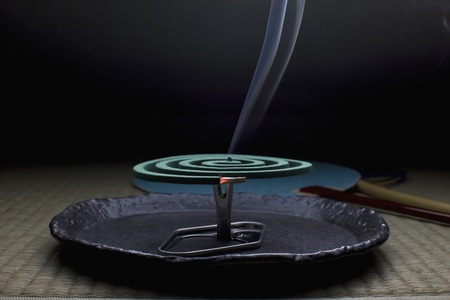 spirale: Moskitospirale Lizenzfreie Bilder