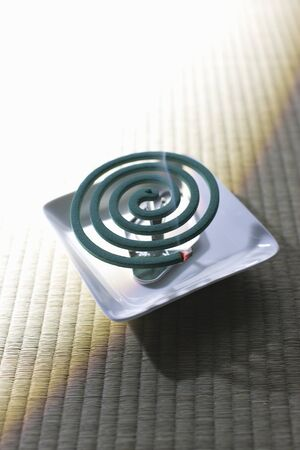 retrospective: Mosquito coil Stock Photo