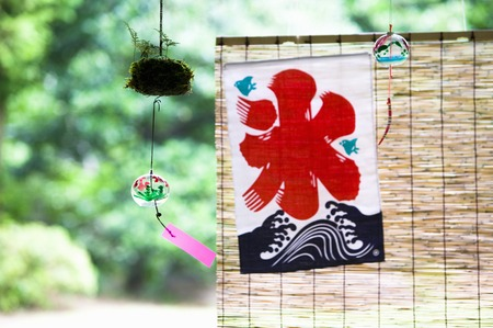 wind chime: Summer images
