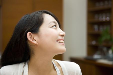 seres vivos: Retrato de un sonriente mujer