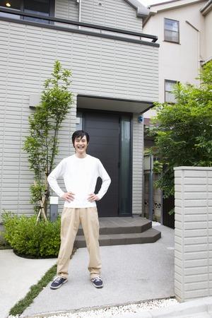 livelihood: Ideal home Stock Photo