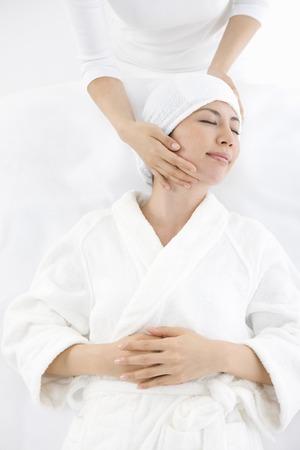 oriental bathrobe: Facial Esthetic