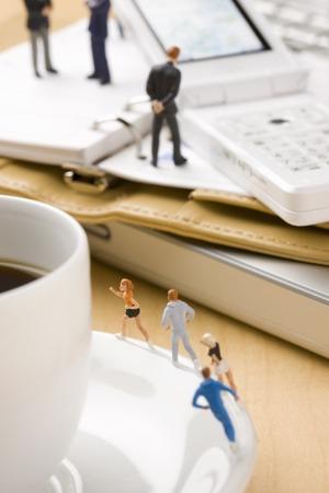 of miniature: Miniature Stock Photo