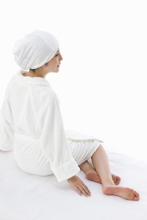oriental bathrobe: esthethic salon