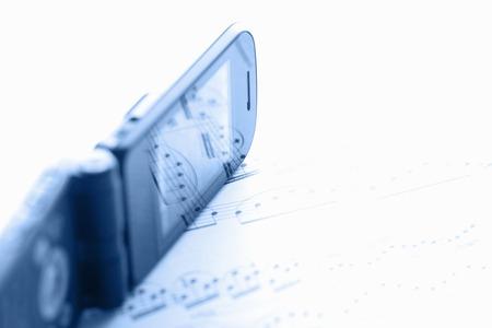 musical score: Mobile phone