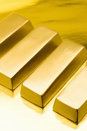 lingotes de oro: El oro en lingotes