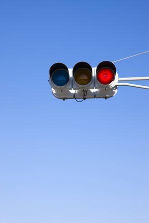 rote ampel: Red light Lizenzfreie Bilder