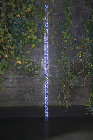 depth gauge: Plumb