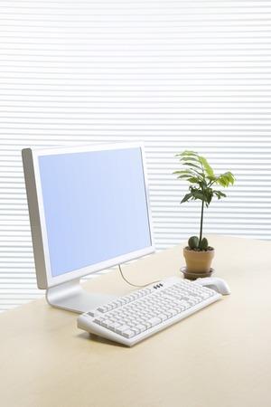 brainpan: Desk image Stock Photo