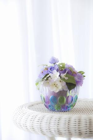 livelihood: Flower arrangement Stock Photo