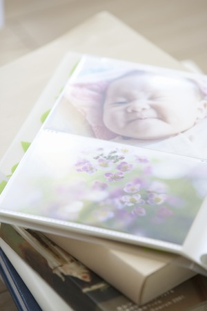 photo album: Photo album Stock Photo