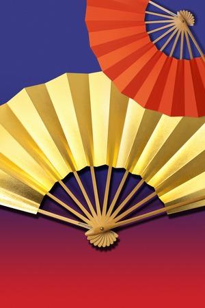 folding: Folding fan