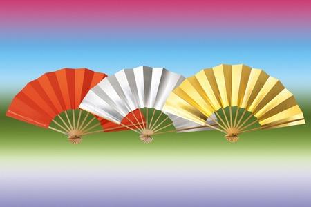 annual events: Folding fan