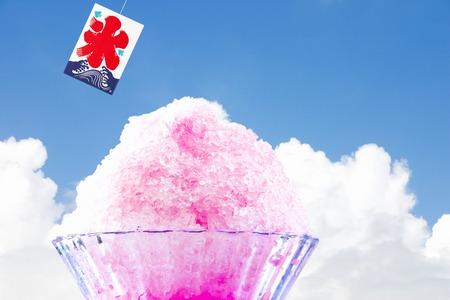 blue  sky: Ghiaccio Poker e cielo blu Archivio Fotografico