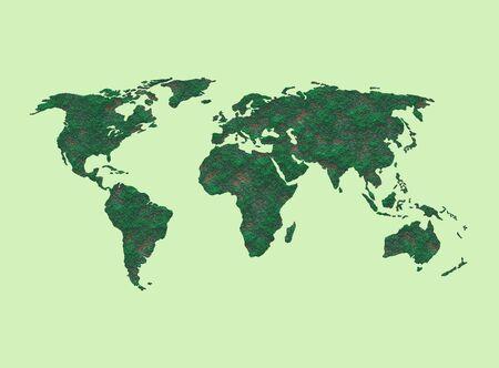 Map of the world 版權商用圖片