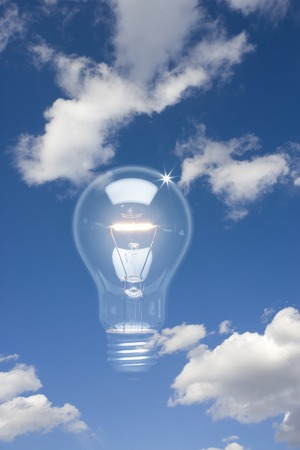 bioluminescent: Light bulb