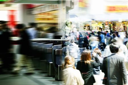 hustle: Hustle and bustle Stock Photo