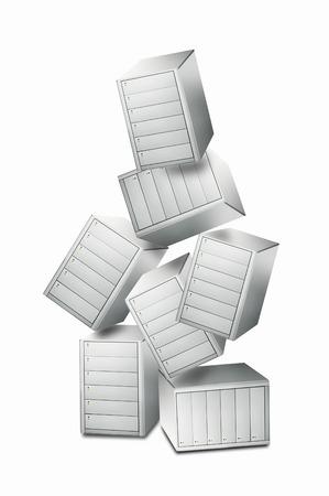 hard disk: Hard disk Stock Photo