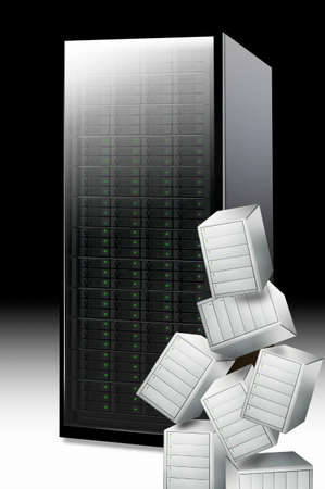 hard disk: Servers and hard disk