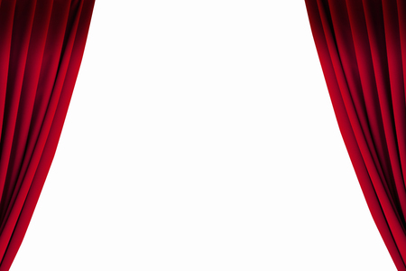 Stage curtains Banque d'images