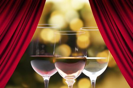 alchoholic drink: Wine Stock Photo