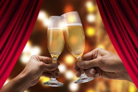 alchoholic drink: Cheers