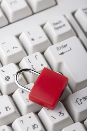 crime prevention: Security image Stock Photo