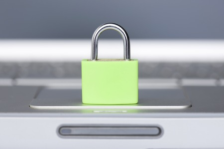 sureness: Security image Stock Photo