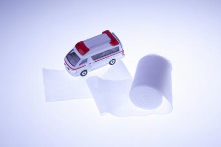 care allowance: Bandages and ambulances