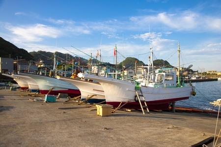 Barco de pesca Foto de archivo - 40037271