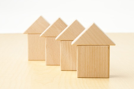 wooden house: Home building blocks