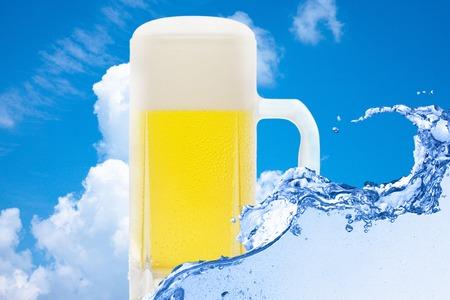 Draft beer photo