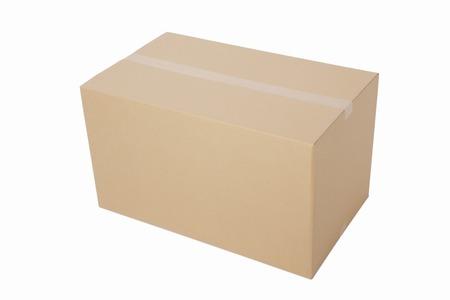 corrugated: Corrugated cardboard Stock Photo