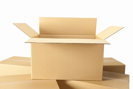 Corrugated cardboard and afterward