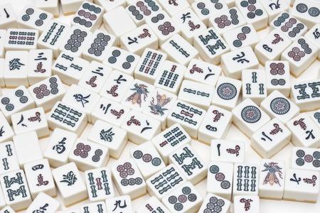 mahjong: Mahjong tiles
