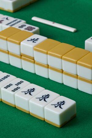 mahjong: Mah-jong Stock Photo