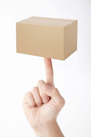 fingertips: Cardboard fingertips